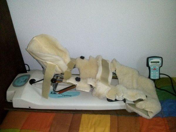 Kinetec Optima - riabilitazione ginocchio