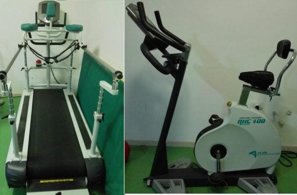 Tapis roulant RHC500 Treadmill e RHC 300 Bike