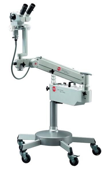 Coloscopio binoculare KARL KAPS con microscopio Moticam e Monitor