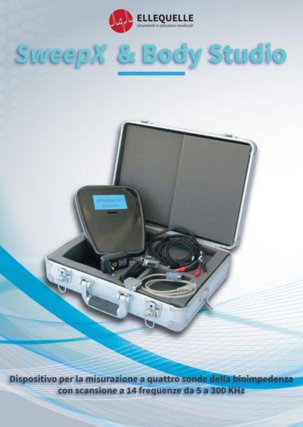 Bioimpedenziometro professionale 14 frequenze