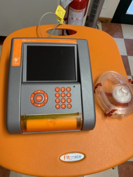 Fitmade by Cosmed - metabolimetro portatile per calorimetria indiretta