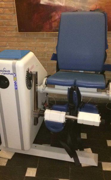 Isocinetica Easytech - Genu Plus 3 - valutazione e riabilitazione flessoestensoria ginocchio