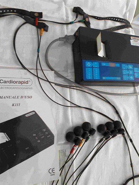 Cardiorapid - Elettrocardiografo ad un Canale