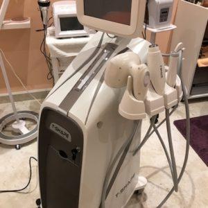 T-SHAPE - laser, radiofrequenza e aspirazione vacuum - rimodellamento corpo e ricompattamento della cute