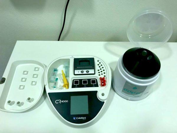 CR4000 + centrifuga 6000 - autoanalisi del sangue