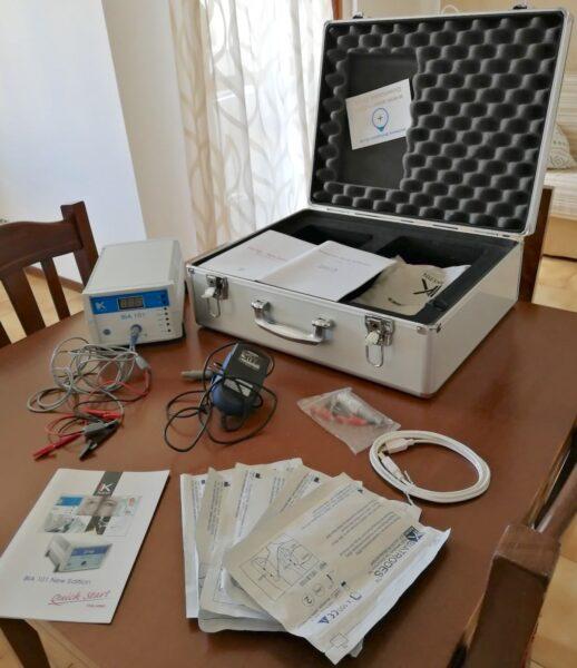 BIA Akern 101 - Bioimpedenziometro - valutazione composizione corporea