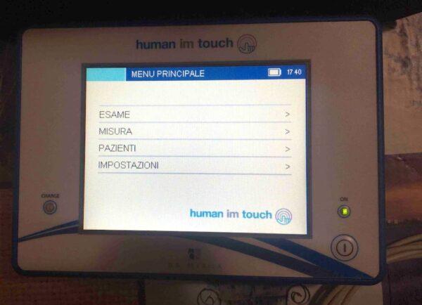 Human im touch - Bioimpedenziometro multifrequenza
