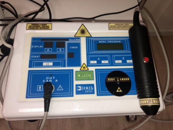 Laserterapia Epmed - Laser alta potenza