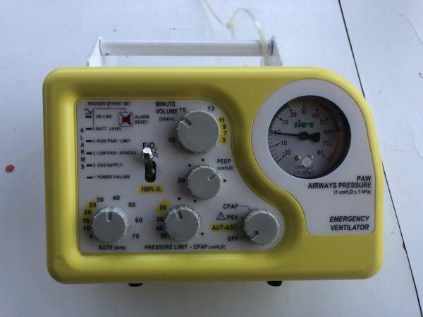 SIRIO S2/T - ventilatore polmonare
