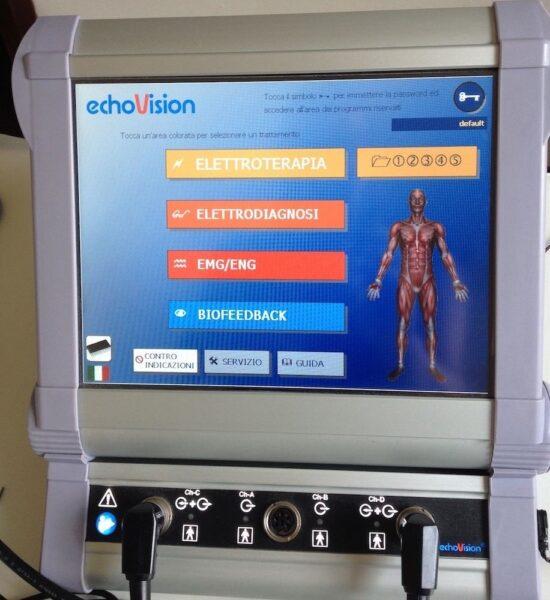 Echovision 2U2P - 9447 BEAC - Elettrostimolazione, Elettroterapia Perineale, Biofeedback